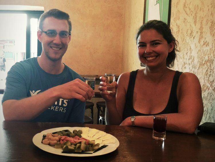 Last stop on our Krakow Vodka Tour