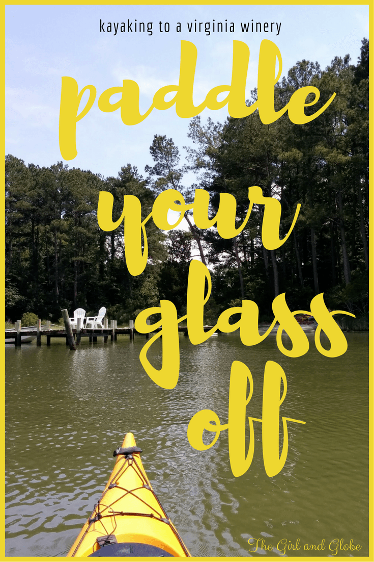Kayak on the Eastern Shore of Virginia to Chatham Vineyards. The half-day trip includes paddling, wine tasting, and a great souvenir bottle.