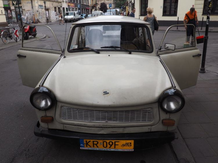 trabant krakow communism tour