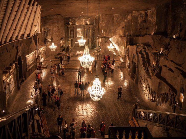 Inside Wieliczka Salt Mine (and Cathedral)