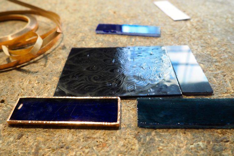 stained glass tin frame krakow poland