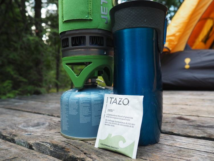 sip joyfully tazo zen tea