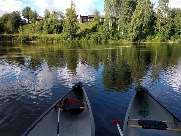 things to do in skelleftea sweden canoe trip