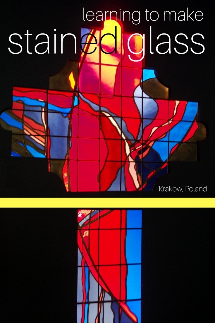 Make your own stained glass at this hands-on workshop at the Stained Glass Museum in Krakow, Poland.
