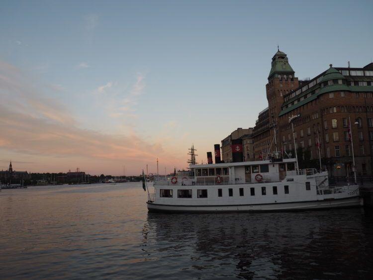 stockholm sweden sunset