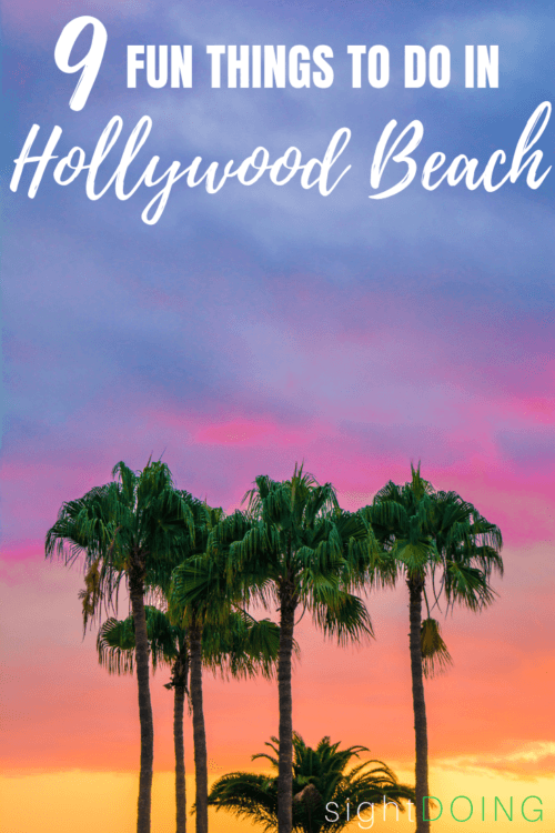 Vacations in Hollywood Beach Florida are totally underrated! Check out the best things to do, hotels, and food you can't beat. There are some twists to just walking the boardwalk and swimming in the ocean, I promise!