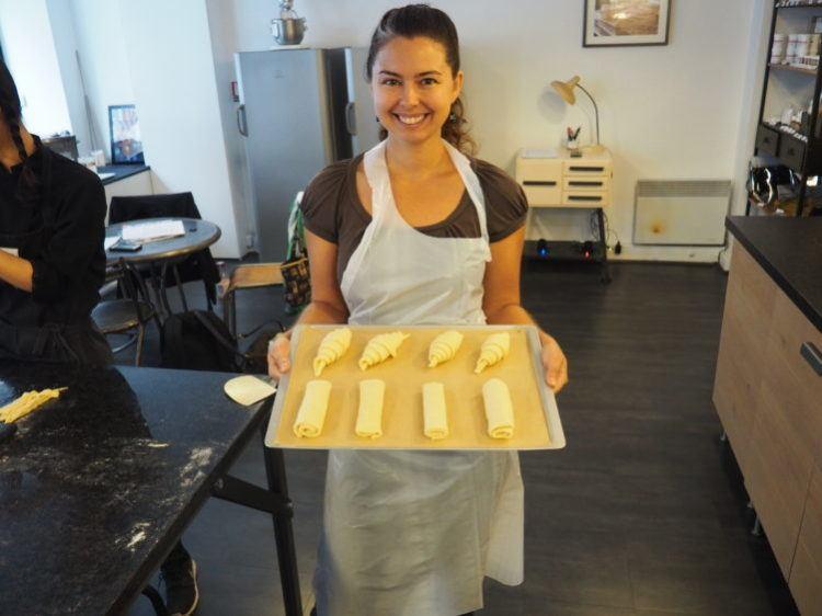 croissant cooking classes in paris
