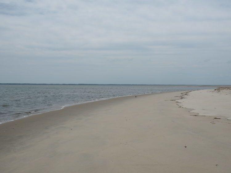 barrier islands of eastern shore of virginia