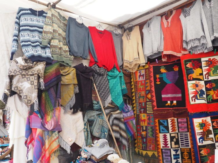 pisac market (things to do other than hiking the inca trail peru)