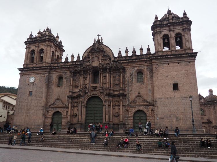 cusco cathedral (things to do other than hiking the inca trail)