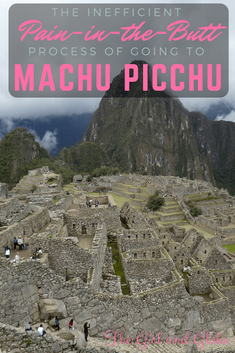 The train and bus to Machu Picchu is incredibly time-consuming (but easy!) but it's completely worth it. Be prepared with this guide to Machu Picchu.