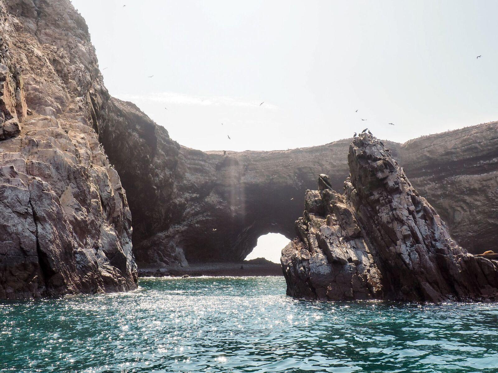 islas ballestas scenery