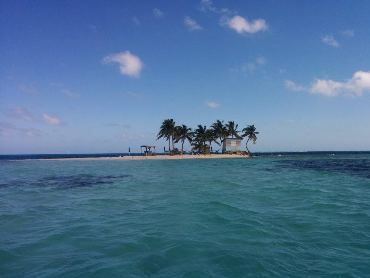 Paradise at Silk Cayes, offshore from Placencia Belize