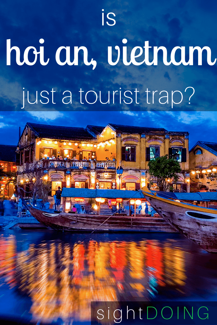 Old Town is beautiful, but the ancient city of Hoi An Vietnam is overrun by tourists! Here's how to escape them if you go (although you may want to read this before booking a trip).