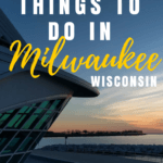 These unique things to do in Milwaukee Wisconsin will help you plan a midwest trip with a twist! Try glow-in-the-dark painting, baking classes, kayaking to a brewery, outdoor movies, and more!