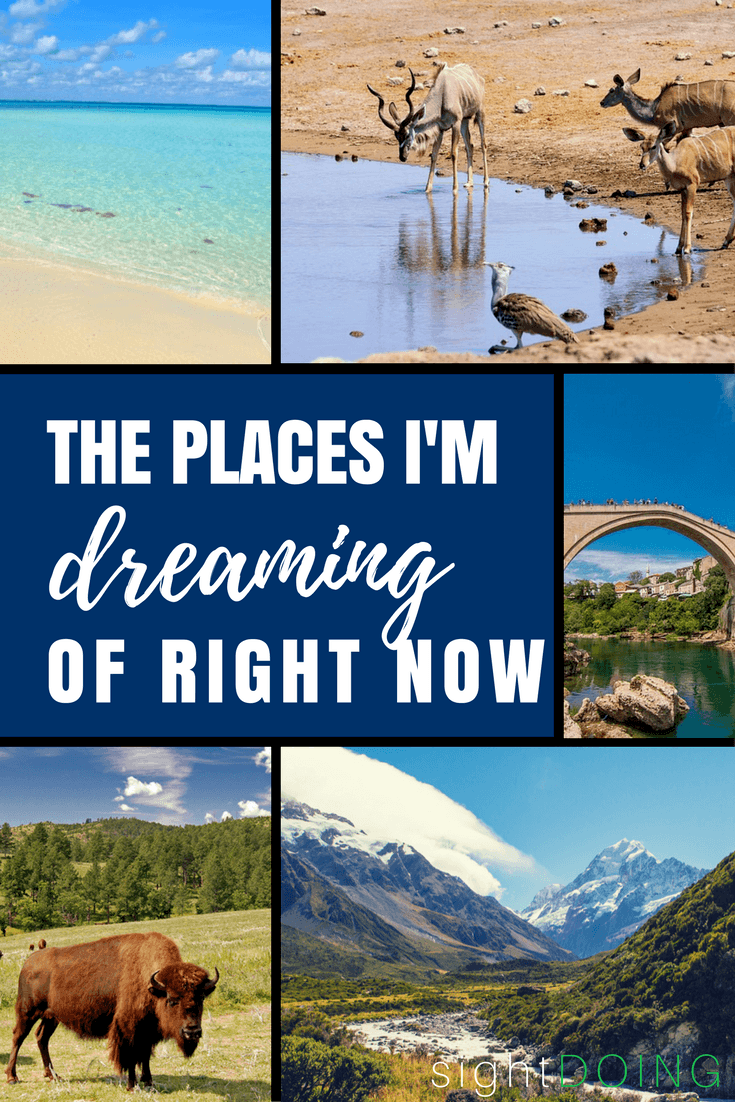 Need some inspiration for your next vacation? These suggestions will have you dreaming before you know it.