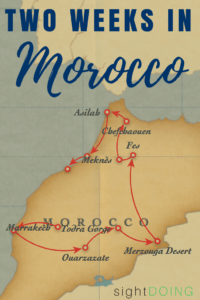 This two week Morocco itinerary organizes the best of Morocco in two weeks. Follow along and plan your own trip with suggestions for tours, places to go in Morocco, and travel tips.  Yes, all in just two weeks in Morocco!