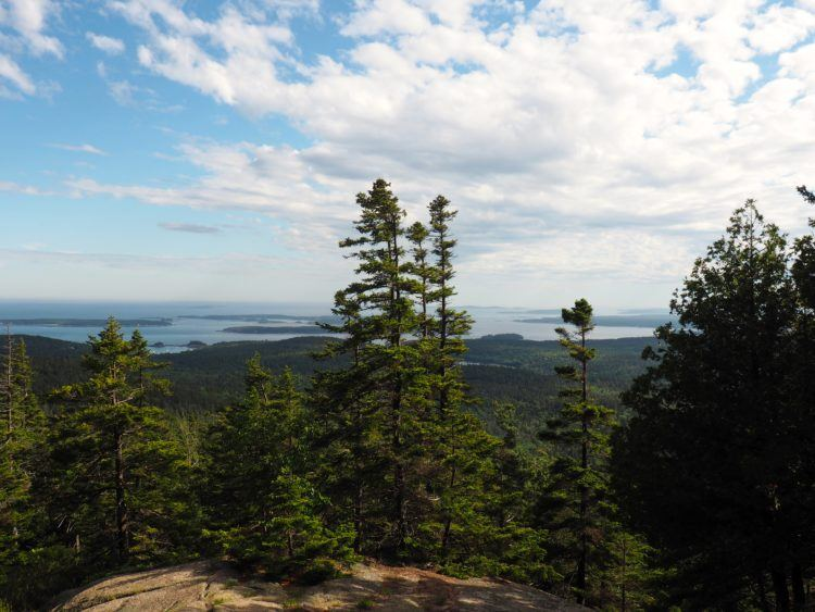 pemetic mountain hikes in acadia national park maine