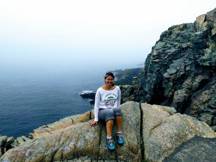 hikes in acadia national park - acadia national park trails to ocean path