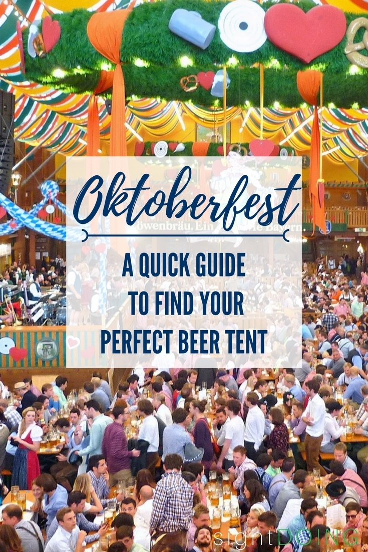 Oktoberfest in Munich is the world's biggest party! Head to Germany for food, music, and drinks. Each beer tent has different beers to choose from and a very different vibe. Which is right for you? You'll know by the end of this article! Includes beer prices, type of music at each tent, and the size of the festivals tents. Click to get the chart for easy comparison!