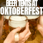 Oktoberfest in Munich is the world's biggest party! Head to Germany for food, music, and drinks. Each beer tent has different beers to choose from and a very different vibe. Which is right for you? You'll know by the end of this article! Includes 2017 beer prices, type of music at each tent, and the size of the festivals tents. Click to get the chart for easy comparison!