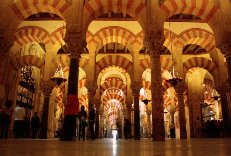 Inside Cordoba's Mezquita, a must-see!