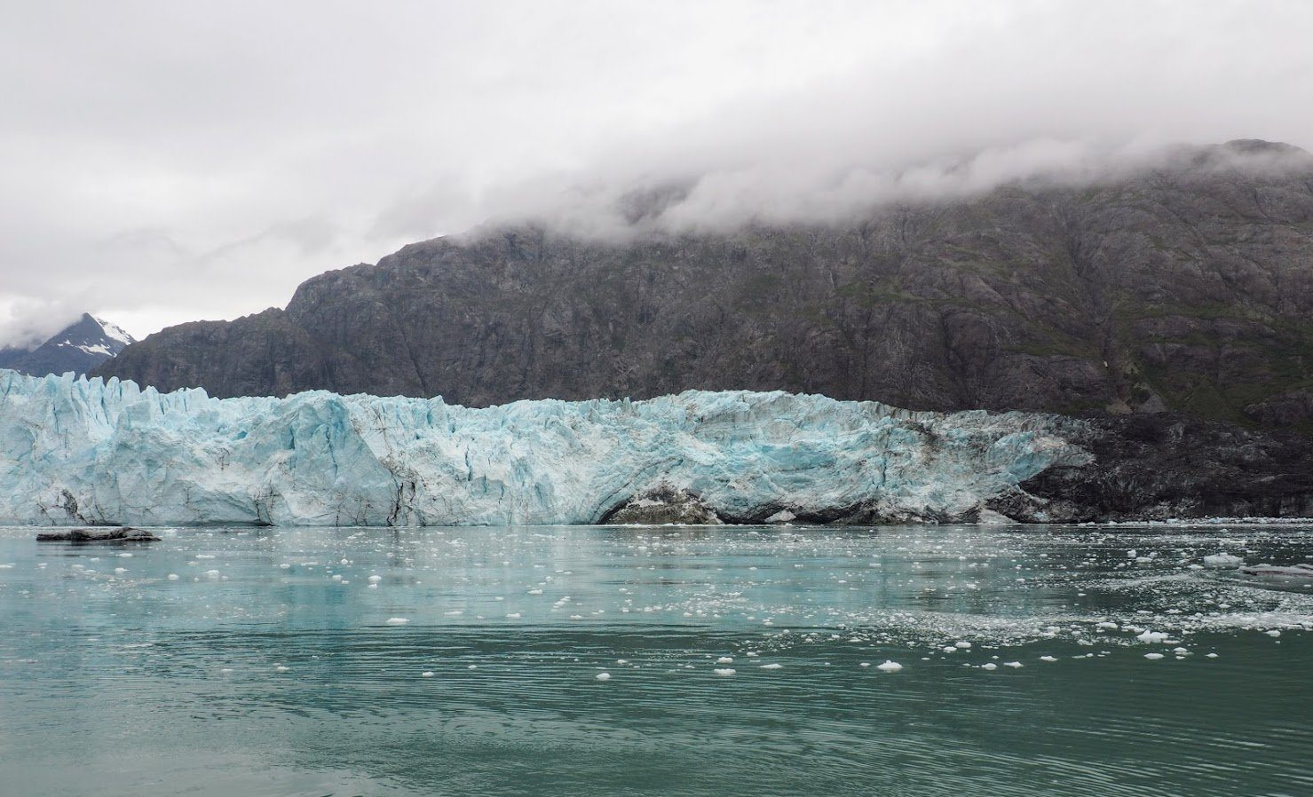 Glacier Bay Alaska, which some people say is a requirement on the best alaska vacations