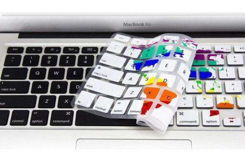 map keyboard skin travel gifts