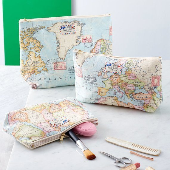 travel makeup bag gift ideas for her