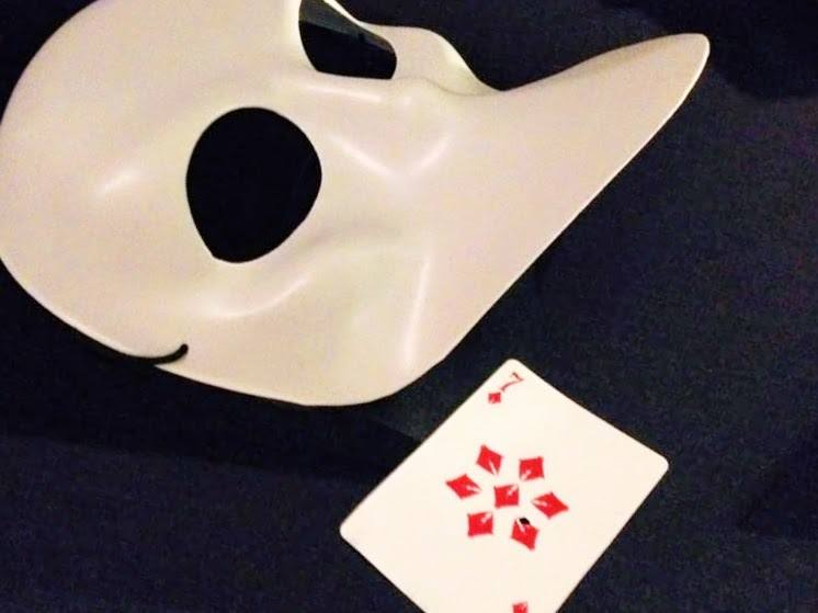 sleep no more explained mask and playing card