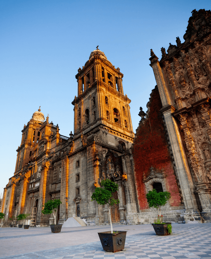 Where to stay in Mexico City near the cathedral