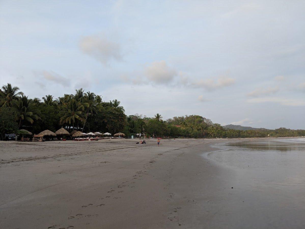 Long, wide beach (Playa Samara, Costa Rica)