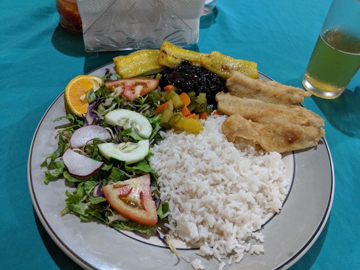 Fish casado in Samara Costa Rica