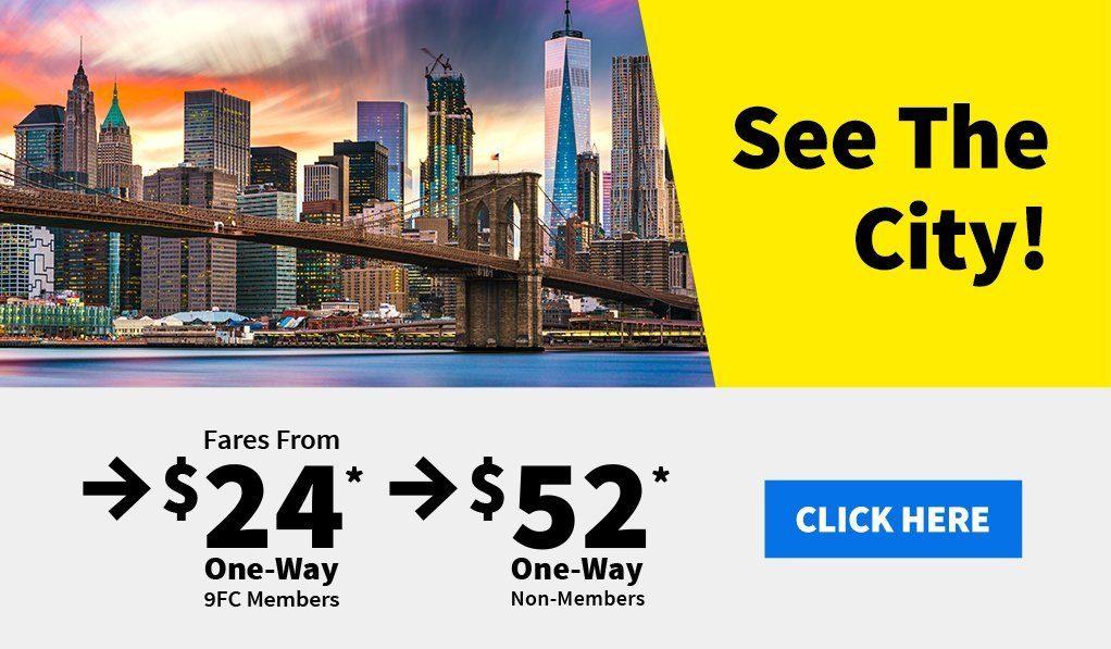 Sample $9 Fare Club Savings on Spirit Flights