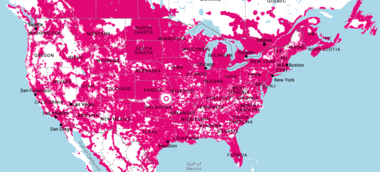 t-mobile international roaming us coverage map