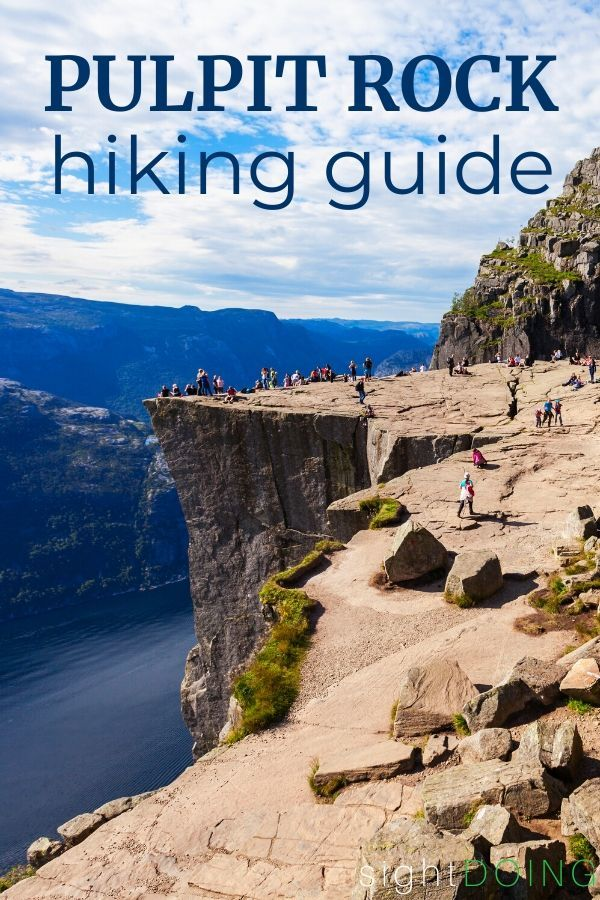 pulpit rock hike guide title image