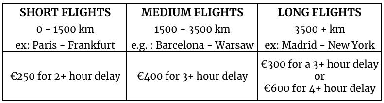 EU Flight Delay Claim Requirements