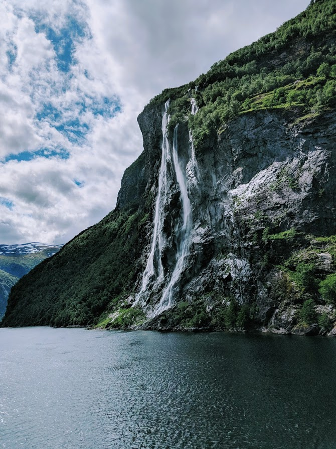 Seven Sisters Waterfall (Geiranger, Norway)