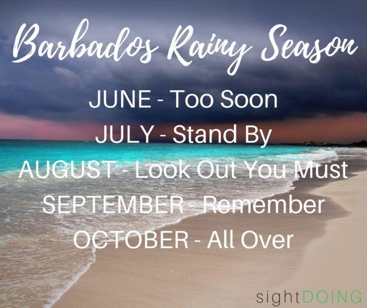 mariners poem for barbados rainy season