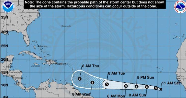hurricane season in barbados