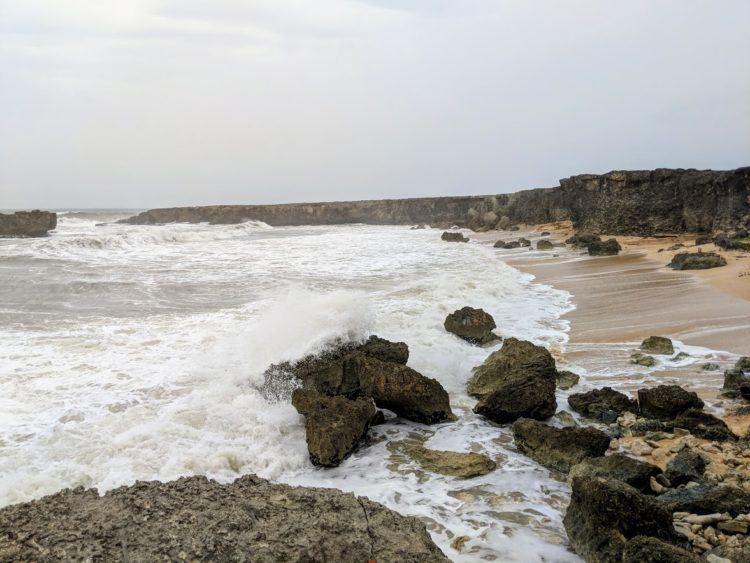north coast barbados waves