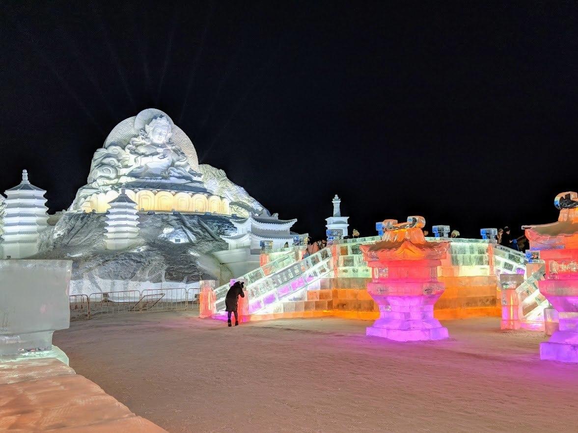 ice sculpture harbin