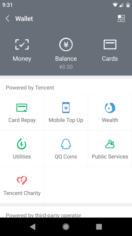 wechat wallet foreigners