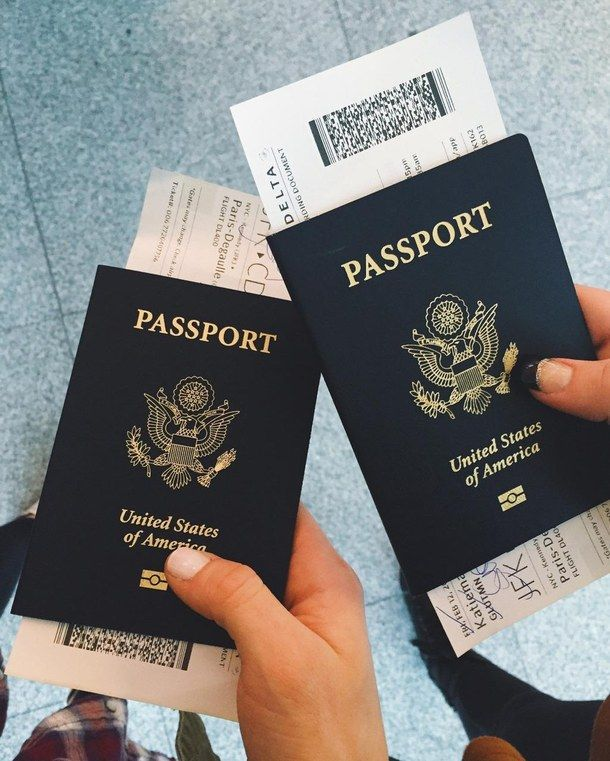 boarding pass in passport from extremely cheap flights