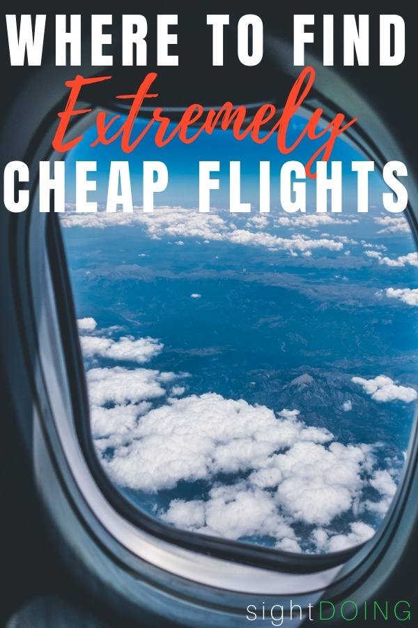how to find extremely cheap flights