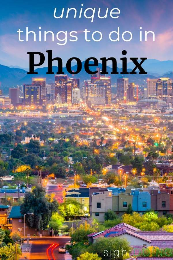 unique things to do in phoenix