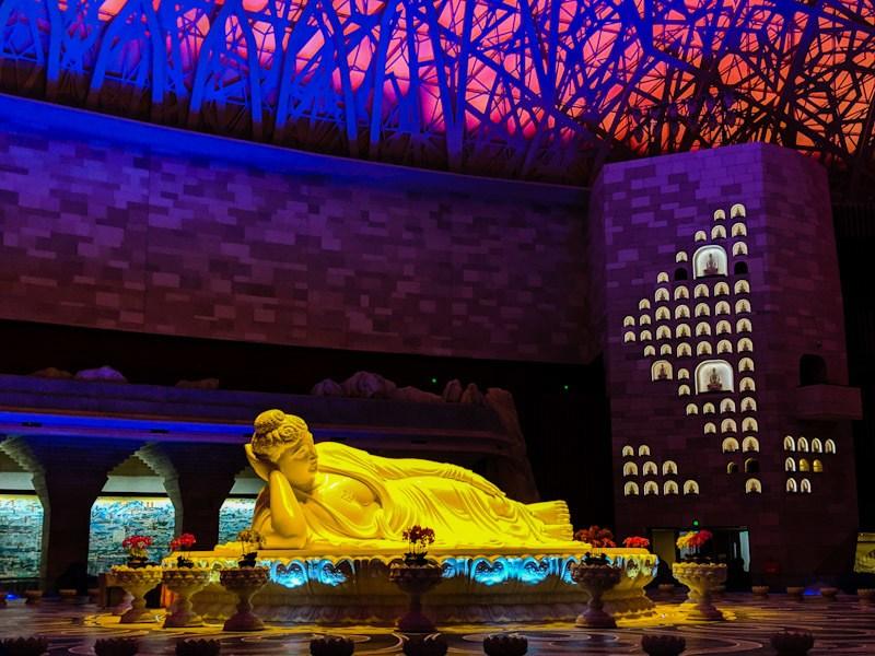 big buddha usnisa palace nanjing china