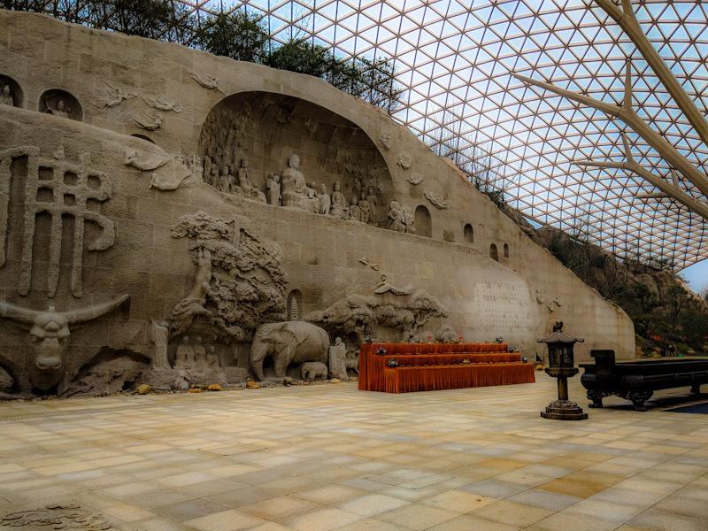 carvings at usnisa palace nanjing