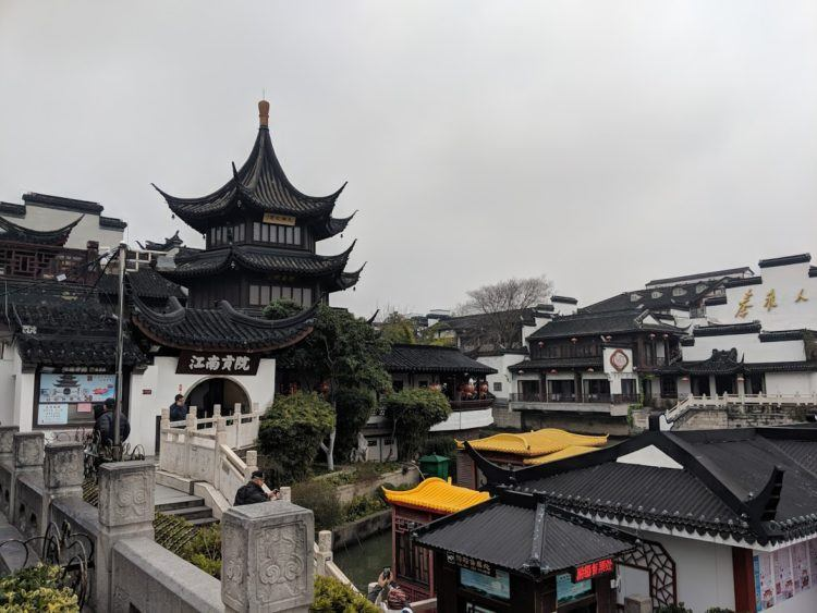 nanjing china temple