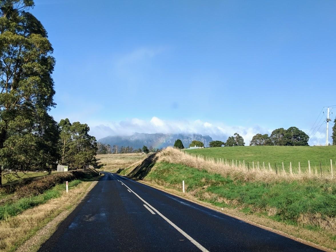 tasmanian country roads
